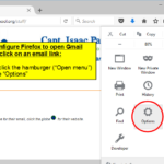How to configure Firefox to open Gmail when you click on an email link