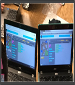 Coding Activity on Chromebooks